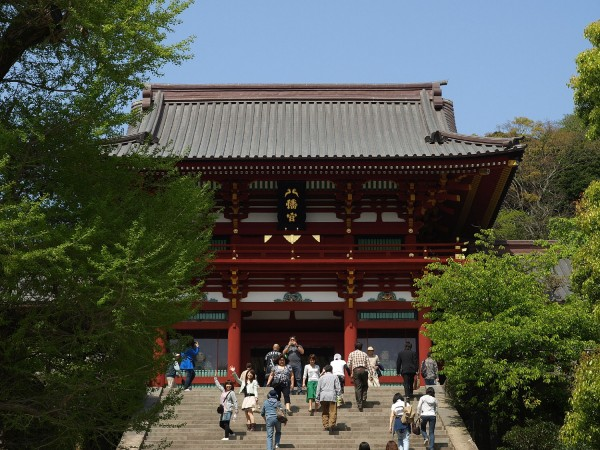 2016!鶴岡八幡宮の初詣の混雑状況の回避と待ち時間の情報